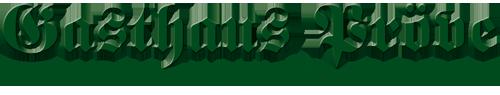 Gasthaus Pröve Eickenrode Logo